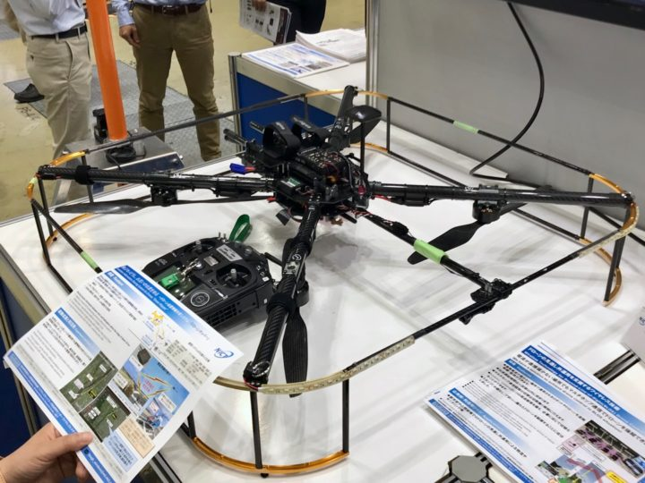 International Drone Expo Tokyo、NICT、機体