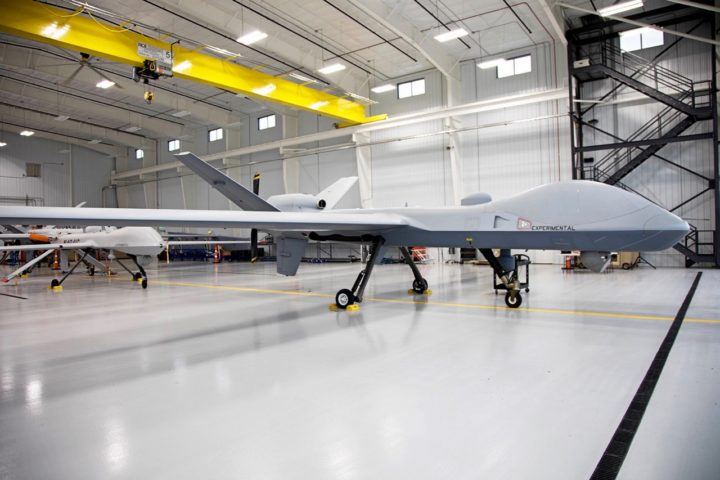 MQ-9B RPA、General Atomic Systems、右斜め前
