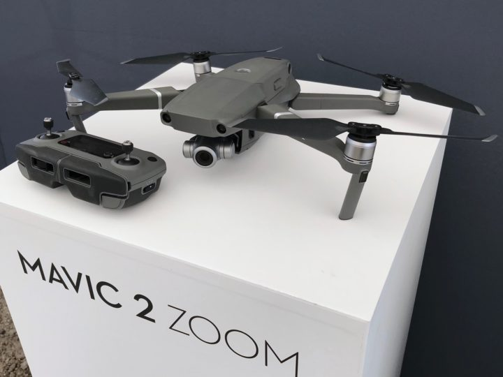 ドローン、DJI、Mavic 2 Zoom